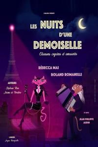 Les Nuits d'une demoiselle - Affiche