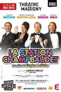 La Station Champbaudet : Affiche