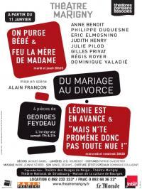 Du Mariage au divorce - Feydeau
