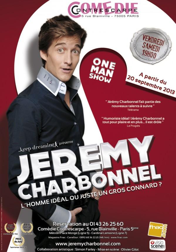 Jérémy Charbonnel à la Comédie Contrescarpe