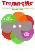 Trompette le petit éléphant : Affiche