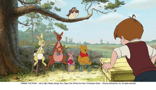Winnie l'ourson : bienvenue dans la forêt des rêves bleus
