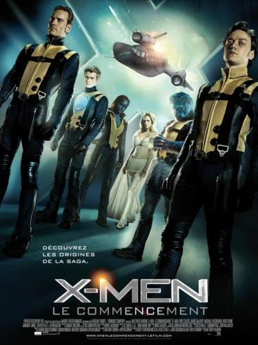 X-Men : le commencement
