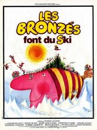 Les Bronzés font du ski, Affiche