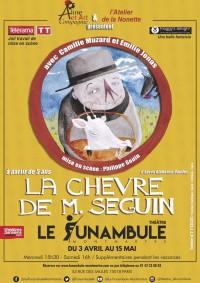 La Chèvre de Monsieur Seguin au Funambule