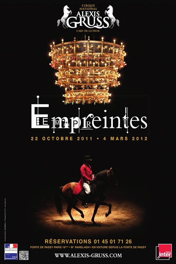 Cirque alexis gr ss empreintes chapiteau alexis gruss - Carrefour des cascades porte de passy ...