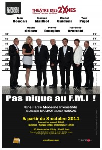 Pas nique au fmi une farce moderne irr sistible th tre for Une farce au theatre