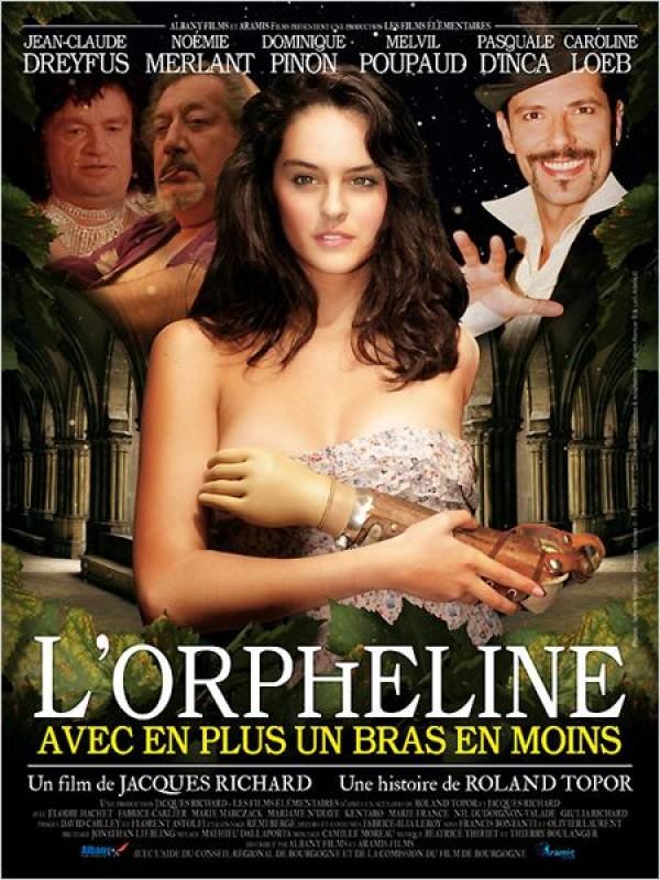 L'Orpheline avec en plus un bras en moins : Affiche