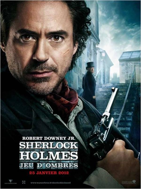 Sherlock Holmes 2 : Jeu d'ombres (Affiche)