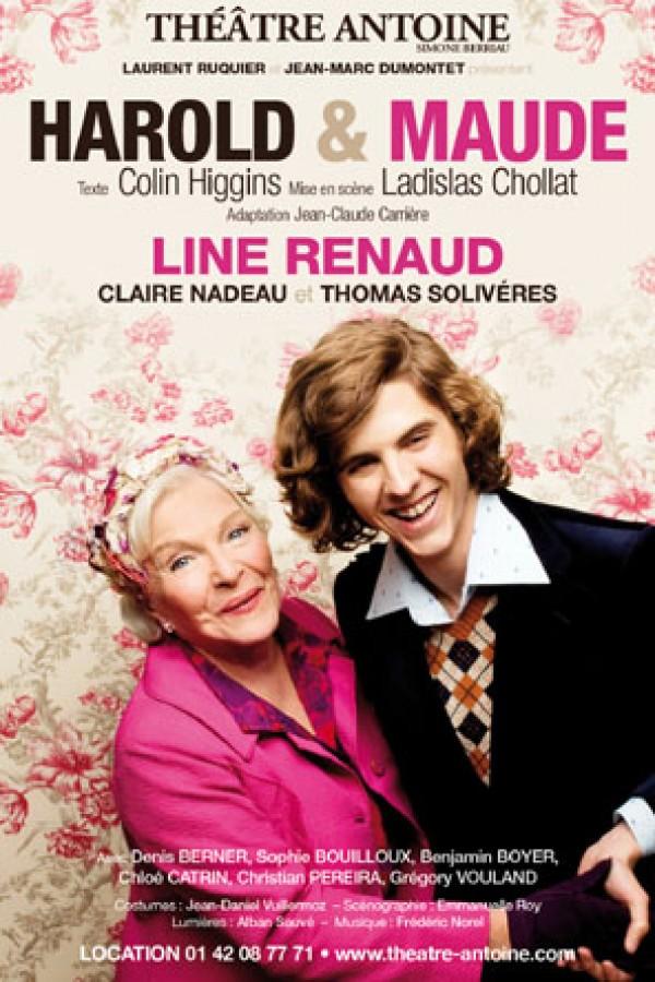 Harold & Maude : Affiche au Théâtre Antoine