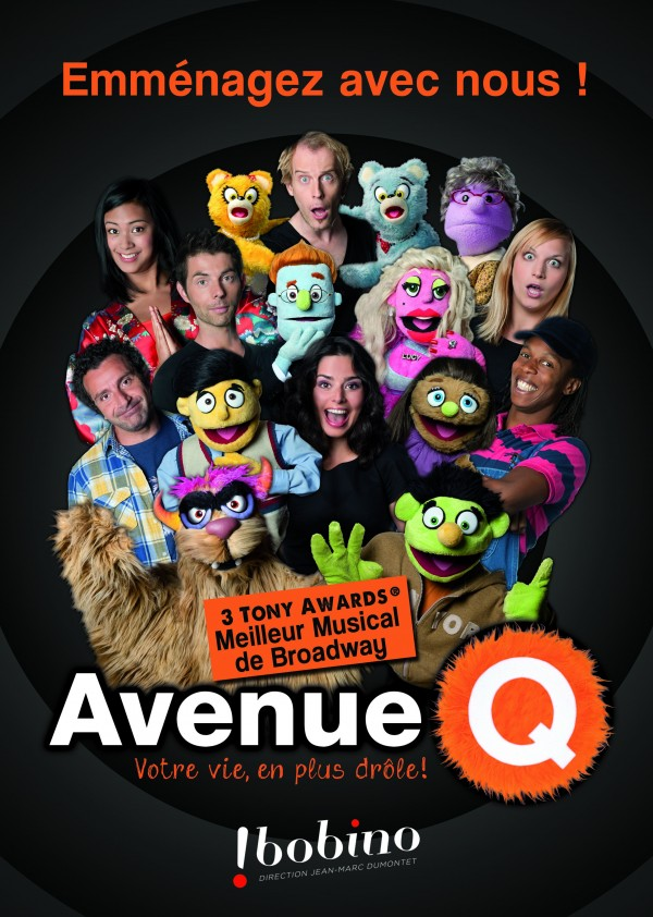 Avenue Q : Affiche