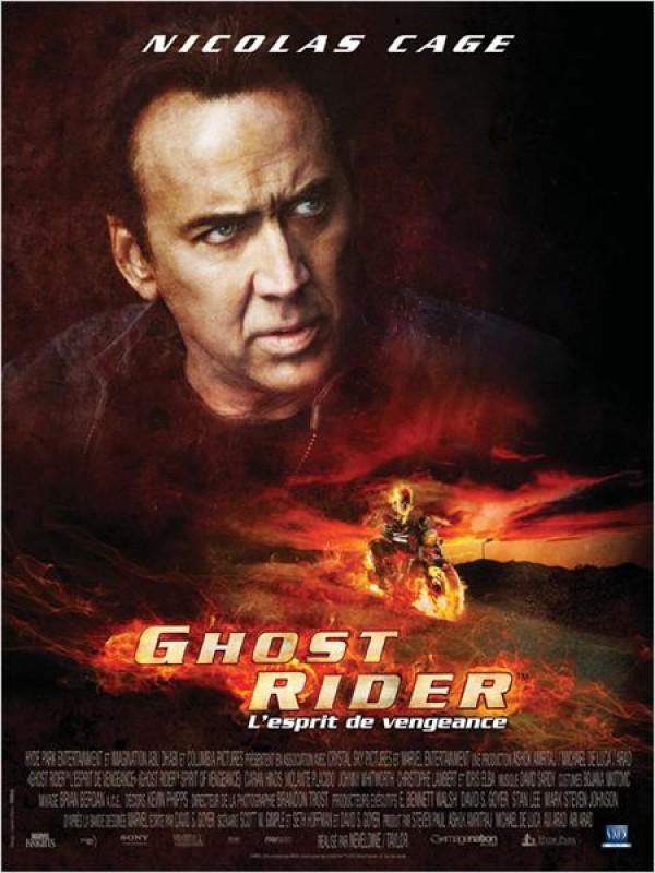 Ghost Rider L'Esprit de vengeance (Affiche)