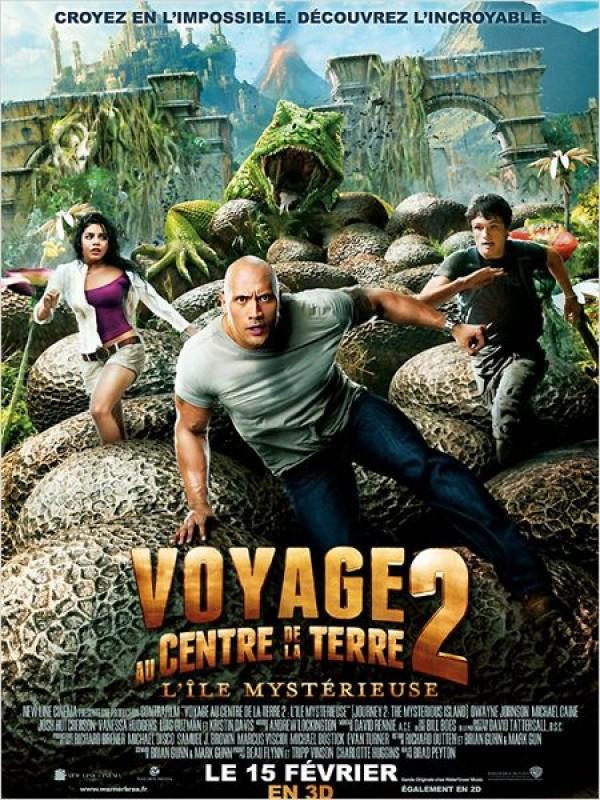 Voyage au centre de la Terre 2 : l'île mystérieuse (Affiche)