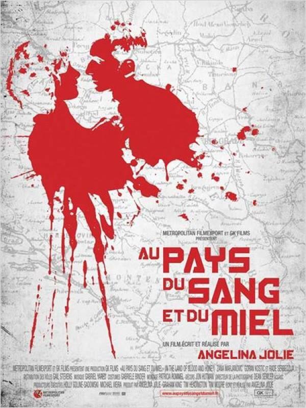 Au Pays du sang et du miel (Affiche)