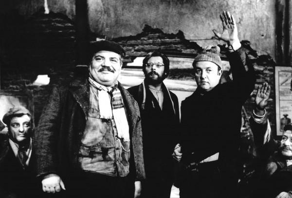 Folco Lulli, Marcello Mastroianni, Bernard Blier
