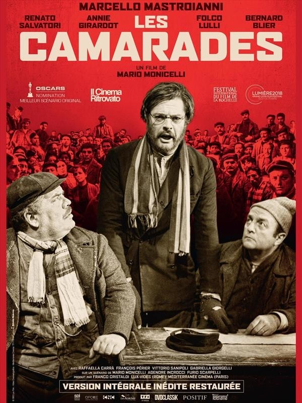 Les Camarades, affiche version restaurée
