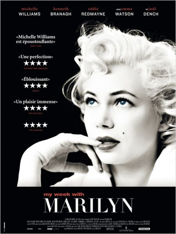 My week with Marilyn (Affiche)