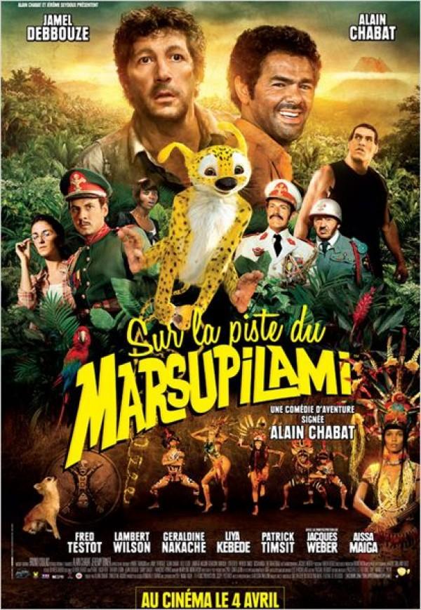 Sur la piste du Marsupilami (Affiche)