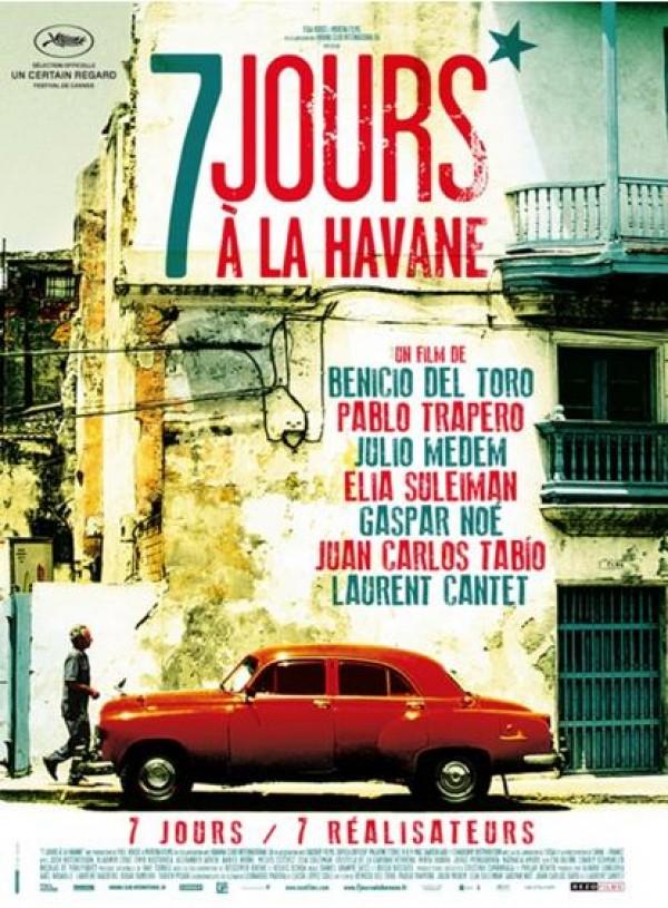 7 jours à la Havane : Affiche