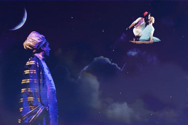 Le sultan, Aladin et Jasmine