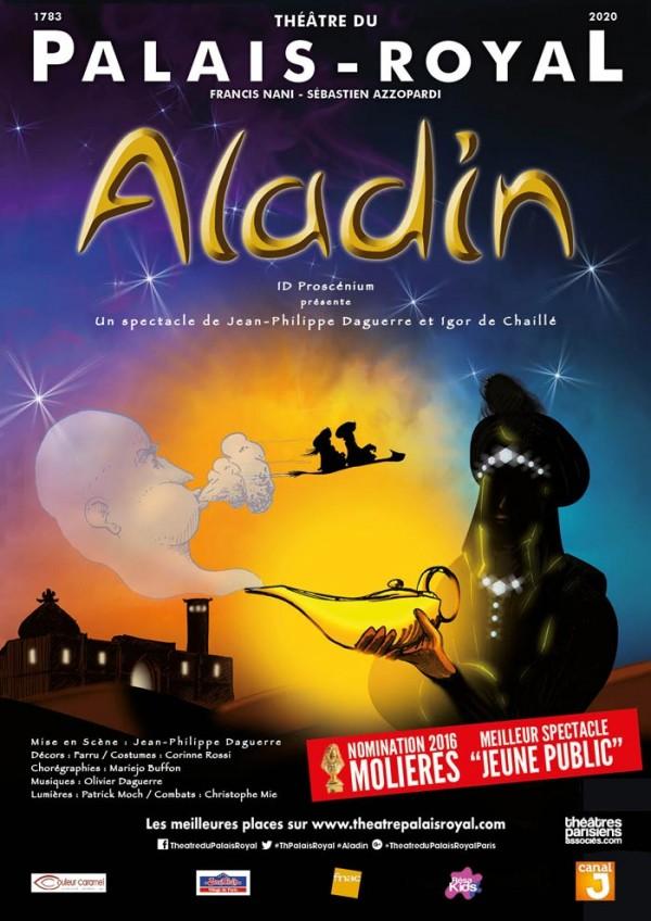 Aladin au Théâtre du Palais-Royal