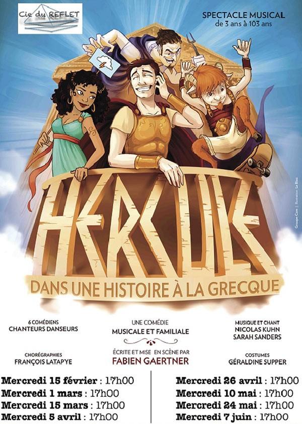 Hercule dans une histoire à la grecque au Théâtre Trévise