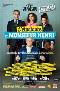 L'Étudiante et monsieur Henri - Affiche