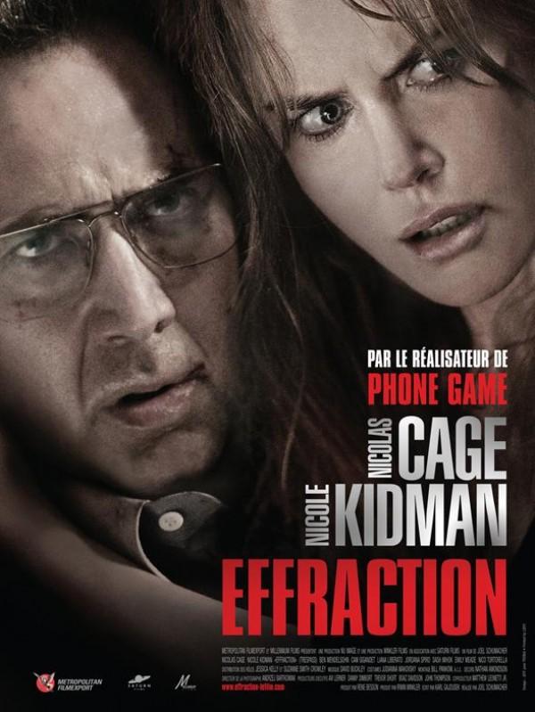 Effraction : Affiche