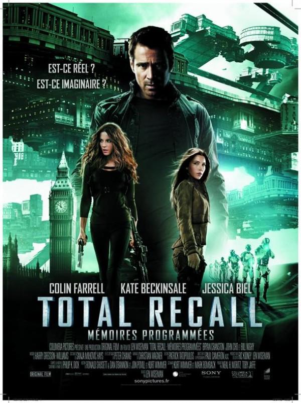 Totall Recall : mémoires programmées : Affiche