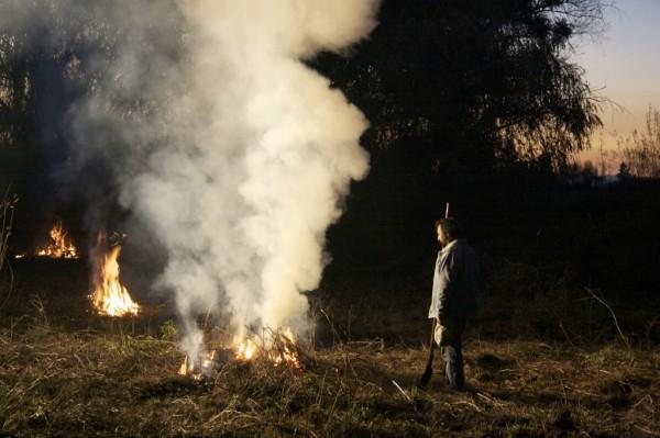Près du feu