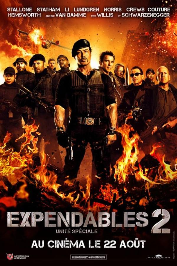 Expendables 2 : Unité spéciale - Affiche