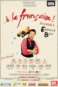 À la française : Affiche