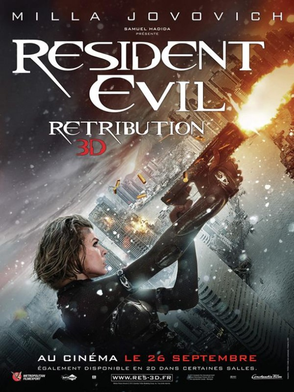 Resident Evil : Retribution - Affiche