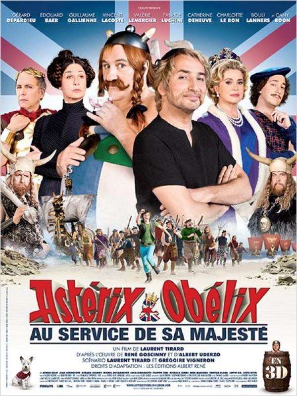 Astérix et Obélix: au service de Sa Majesté - Affiche