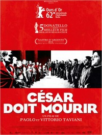 César doit mourir : Affiche