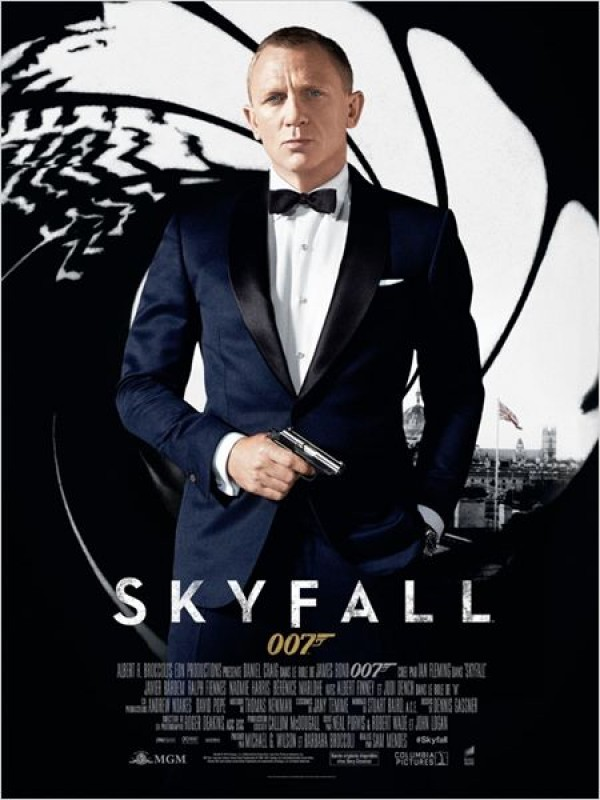 Skyfall : Affiche