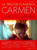 La Trilogie Flamenca de Carlos Saura : Carmen, affiche version restaurée