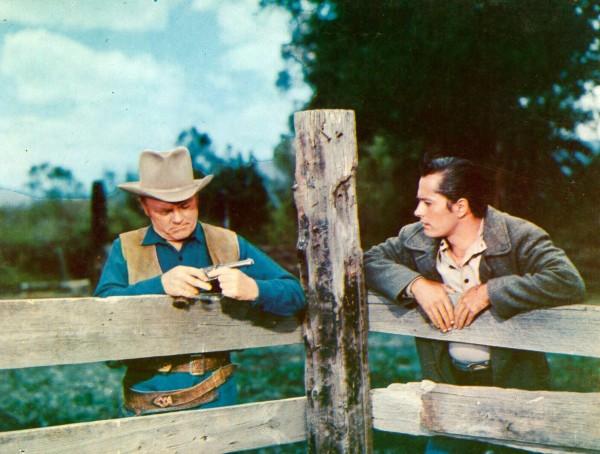 James Cagney, John Derek