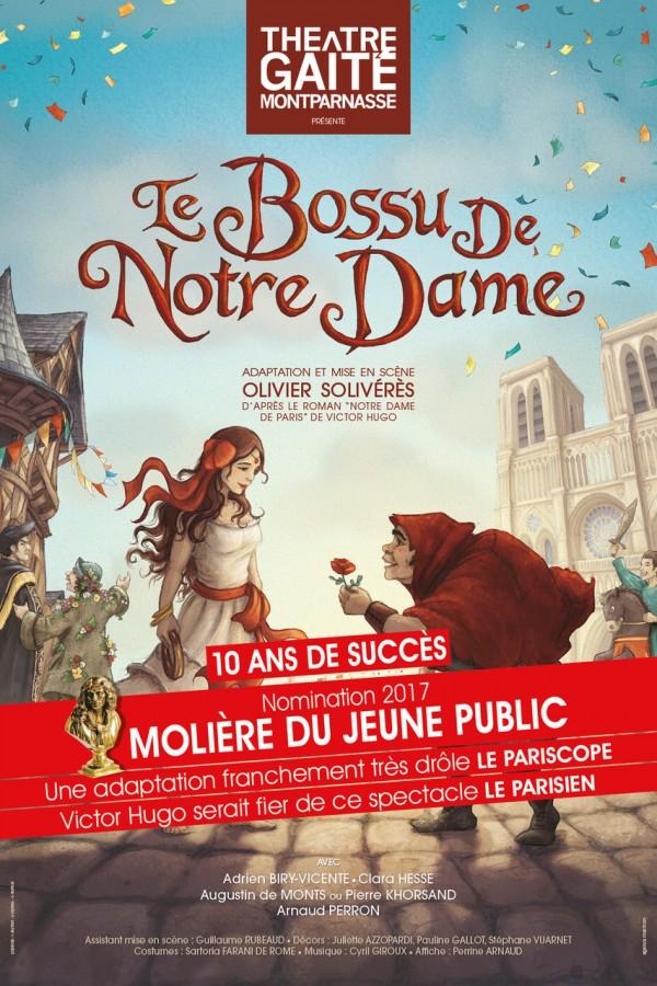 Le Bossu de Notre-Dame au Théâtre de la Gaîté-Montparnasse