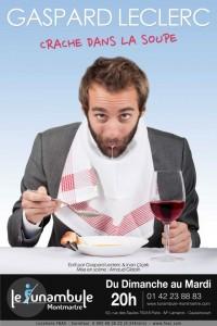 Gaspard Leclerc crache dans la soupe