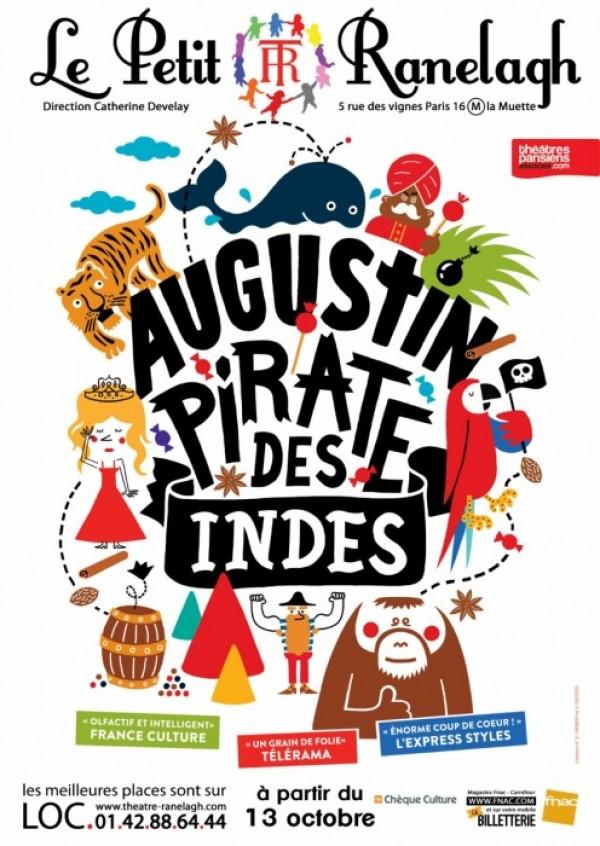 Augustin, pirate des Indes au Théâtre Ranelagh