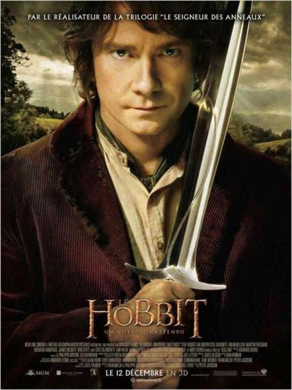 Le Hobbit : un voyage inattendu - Affiche
