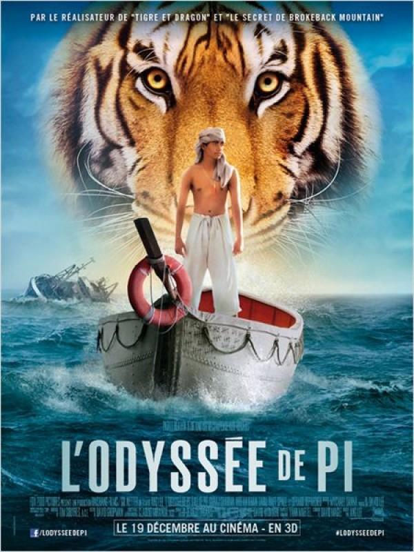 L'Odyssée de Pi : Affiche