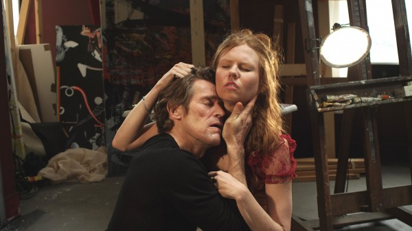 Willem Dafoe (Cisco), Shanyn Leigh (Skye)