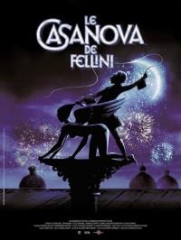 Le Casanova de Fellini, affiche version restaurée