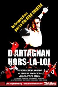 D'Artagnan, Hors-la-loi
