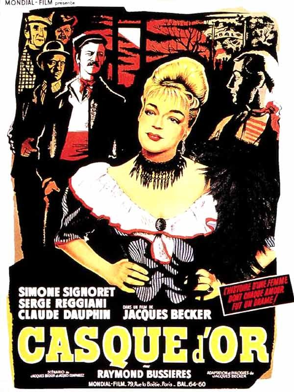 Casque d'or, Affiche
