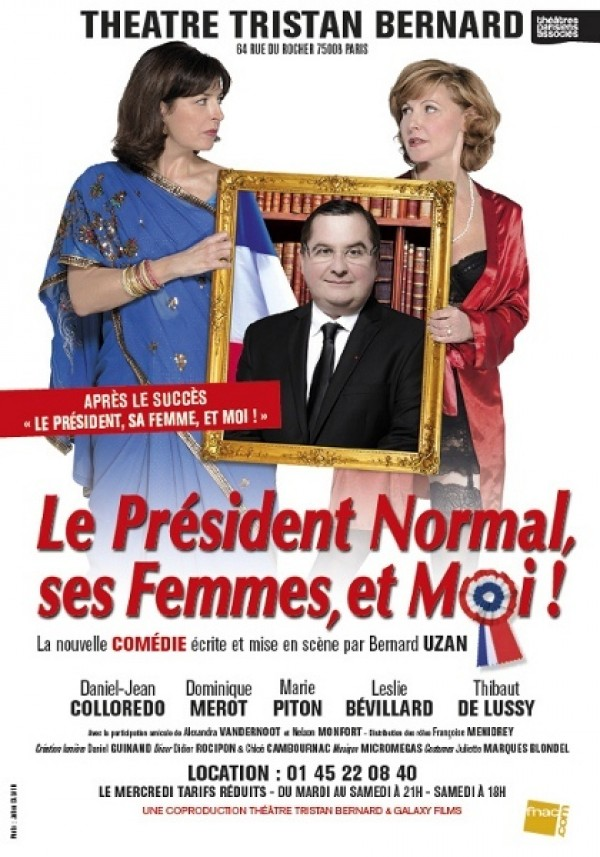 Le Président normal, ses femmes et moi