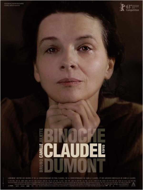 Camille Claudel 1915 : Affiche