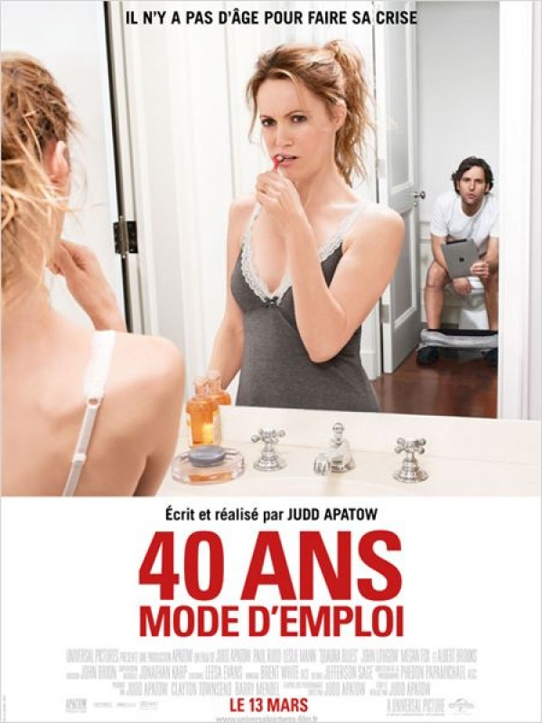 40 ans mode d'emploi : Affiche